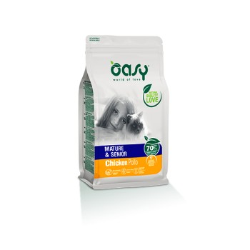 Pienso para Gatos Adult Mature 300G - Oasy
