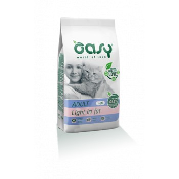 Pienso para Gatos Adult Light 1,5 Kg - Oasy