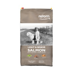 Light And Senior Salmon 1,5Kg - Retorn