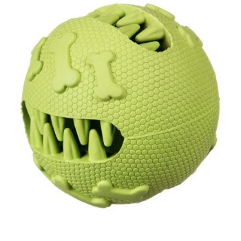 Juguete para perros Bola De Goma Dental, 7,5 Cm  Verde - Barry King