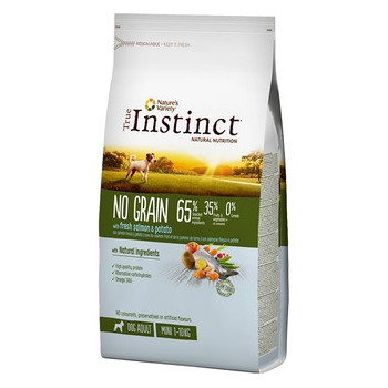 Pienso para perros No Grain Mini Salmon 600 Gr - True Instinct