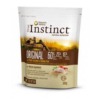 Tin Cat Original Kitten Chicken 300 Gr - True Instinct