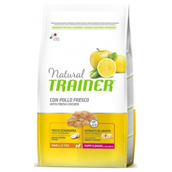 Nt Dog Mini Pup&Jun Pollo 0,8 Kg - Natural Trainer