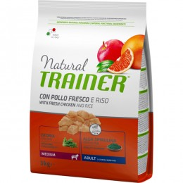 Nt Dog Med Adult Pollo 12 Kg - Natural Trainer