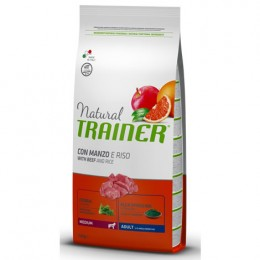 Nt Dog Med Adult Buey 12 Kg - Natural Trainer