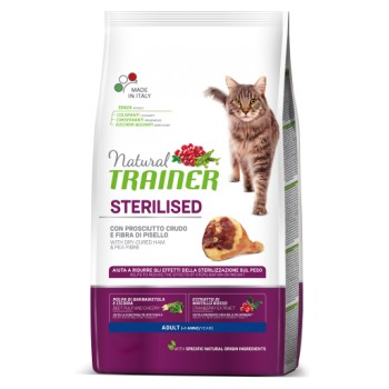 Nt Cat Stz Ad Jamon Curad 0,3 Kg - Natural Trainer