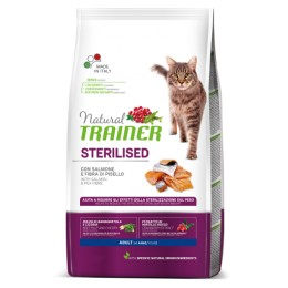 Nt Cat Stz Ad Salmon 10 Kg - Natural Trainer