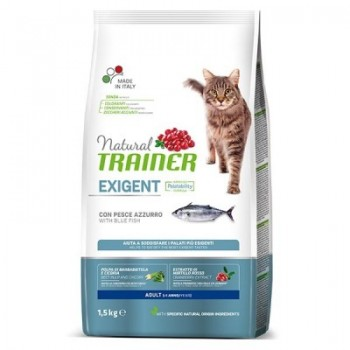 Nt Cat Exigent Pescado 0,3 Kg - Natural Trainer