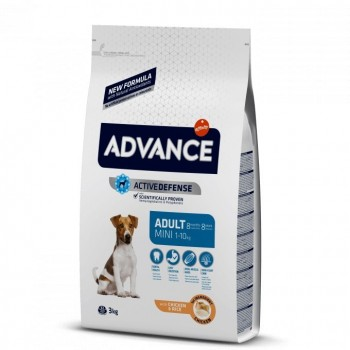 Pienso para perros Advance Mini Adult Chicken & Rice 800 Gr - Affinity