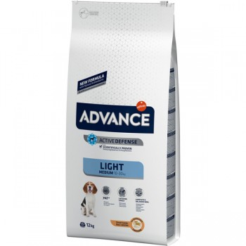 Pienso para perros Advance Medium Light Chicken & Rice 12 Kg - Affinity