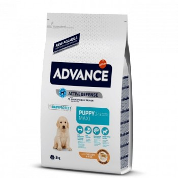 Pienso para perros Advance Puppy Protect Maxi Chicken & Rice 3 Kg - Affinity