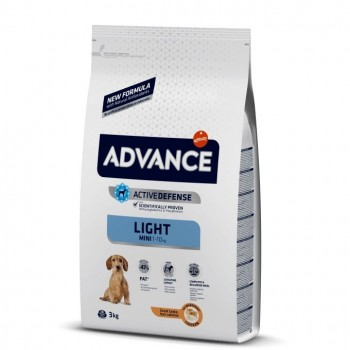 Pienso para perros Advance Mini Light Chicken & Rice 3 Kg - Affinity