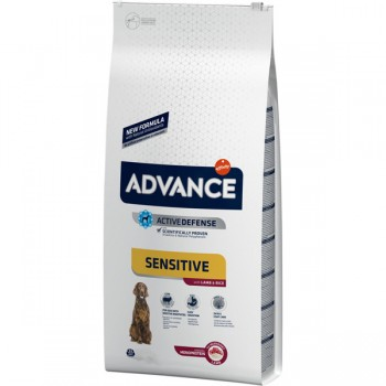 Pienso para perros Advance Sensitive Lamb & Rice 3 Kg - Affinity