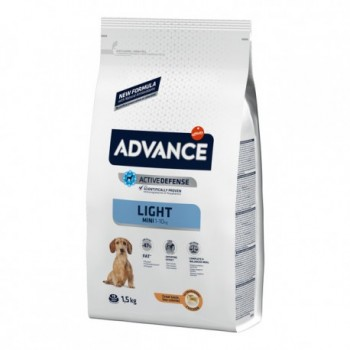 Pienso para perros Advance Mini Light Chicken & Rice 1,5 Kg - Affinity