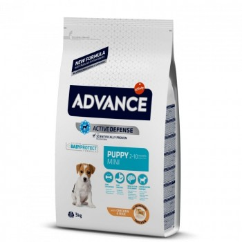 Pienso para perros Advance Puppy Protect Mini Chicken & Rice 3 Kg - Affinity