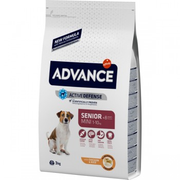 Advance Mini Senior Chicken & Rice 3 Kg - Affinity