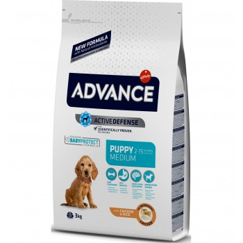 Pienso para perros Advance Puppy Protect Medium Chicken & Rice 3 Kg - Affinity