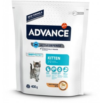 Advance Kitten Chicken & Rice 400 Gr - Affinity