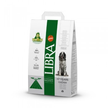 Libra Dog Senior 12 Kg - Affinity