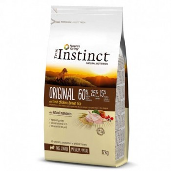 Pienso para perros Original Med Adult Chicken 12 Kg - True Instinct