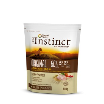 Tind Original Puppy Chicken 600 Gr - True Instinct