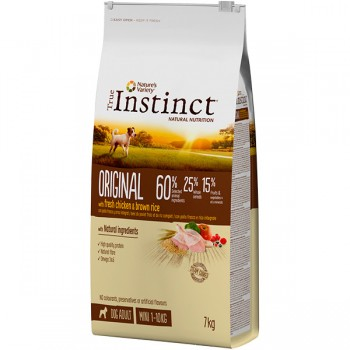 Pienso para perros Original Mini Chicken7 Kg - True Instinct