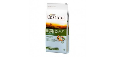 Pienso para perros No Grain Med Puppy Salmon 12 Kg - True Instinct