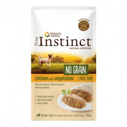 Wid Ng Pouch Mini Ad Chicken Pat 150Grg - True Instinct