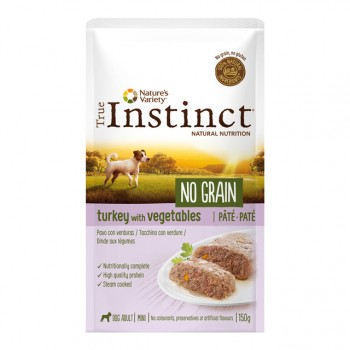 Wid Ng Pouch Mini Ad Turkey Pat 150Gr - True Instinct