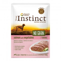 Wid Ng Pouch Med Ad Salmon Ter 300Gr - True Instinct