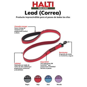 Halti Lead Correa Negra Large - The Company of animals
