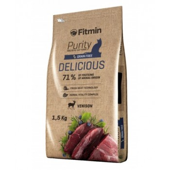 Fitmin Purity Delicious Ciervo - 1,5 Kg