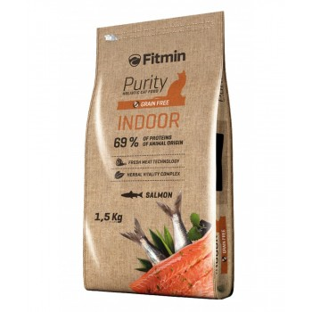 Fitmin Purity Indoor Salmon - 1,5 Kg