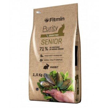 Fitmin Purity Senior Conejo - 1,5 Kg
