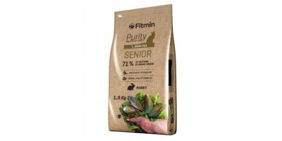 Fitmin Purity Senior Conejo - 400 Gr